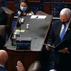 Arizona's Mark Kelly is sworn into Senate