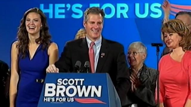 Sen. Scott Brown says he's leaving dysfunctionality