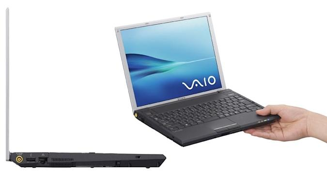 Sony Vaio G: 1.98-pounds of 12.1-inch laptop coming at ya