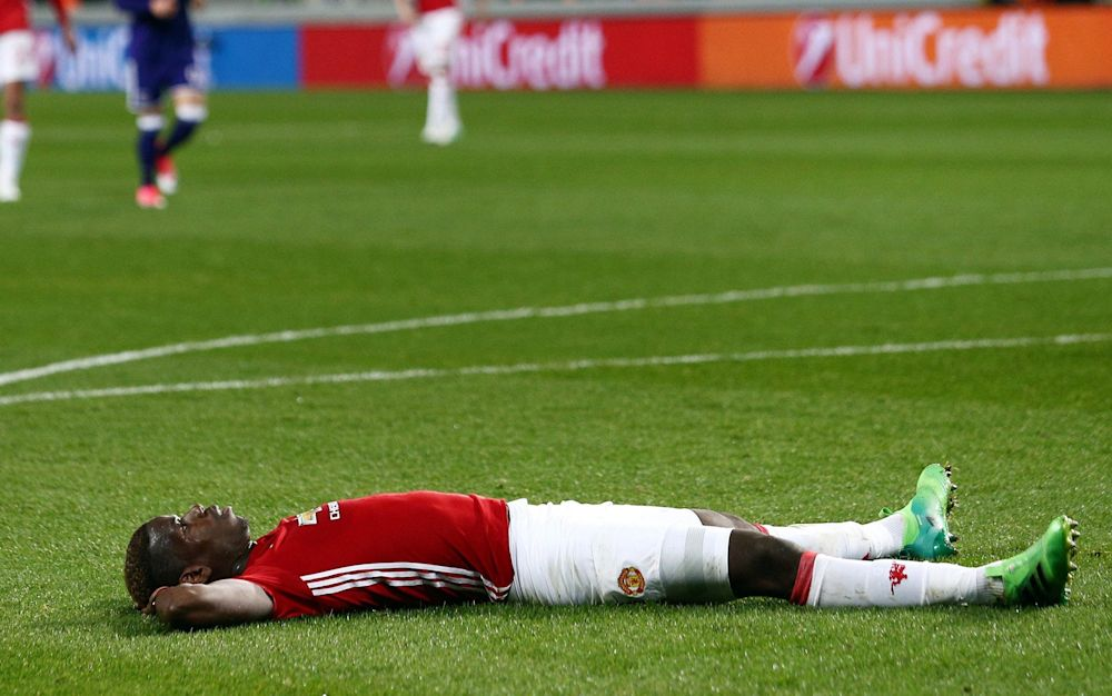 Paul Pogba spurns his chances again - Rex Features