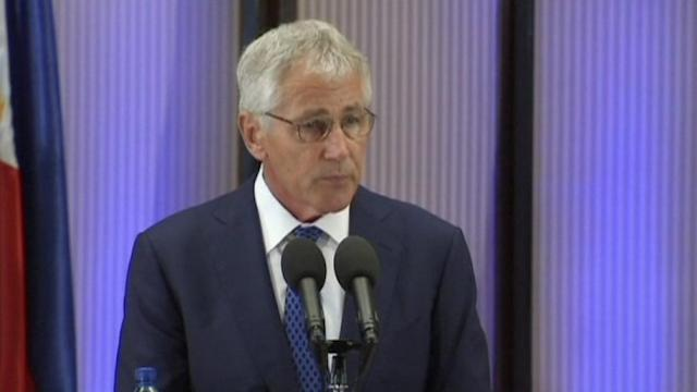We will continue looking for support on Syria-Hagel