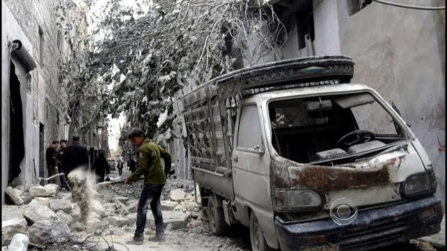 Civil war in Syria continues