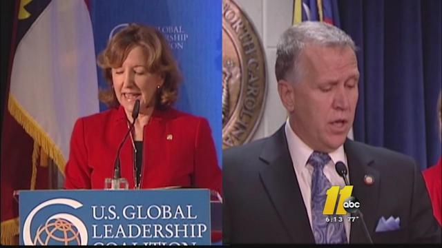 Senate race confirmed: Hagan vs. Tillis