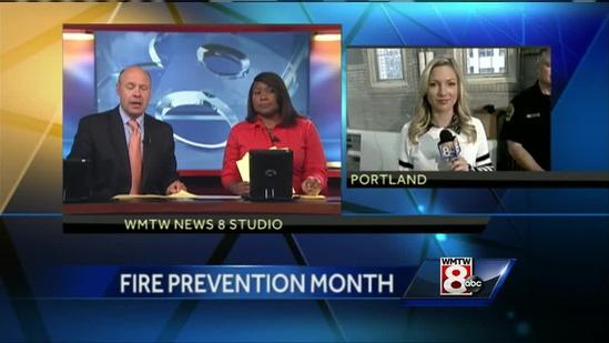 Portland Fire Department emphasizing the importance of fire safety in the kitchen