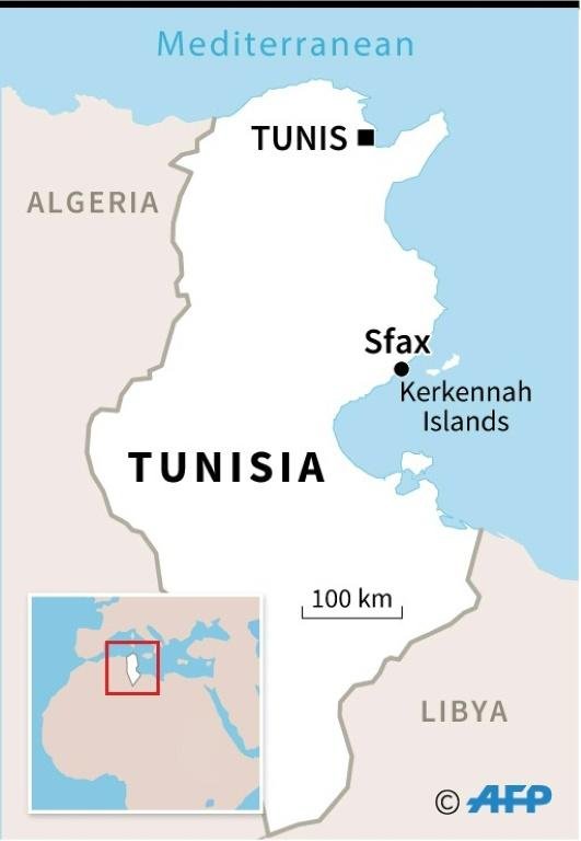 Map locating Sfax (AFP Photo/)