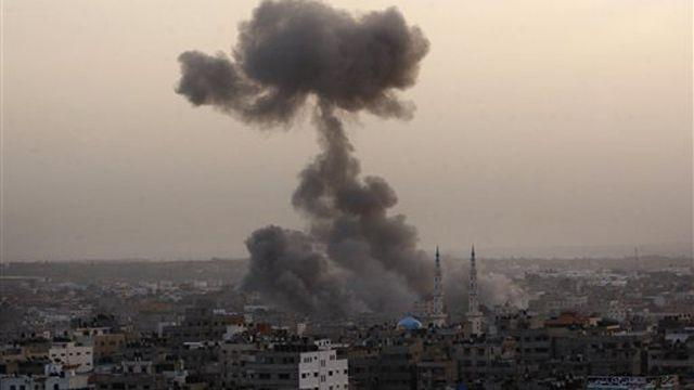 Israel targets Hamas government buildings with airstrikes