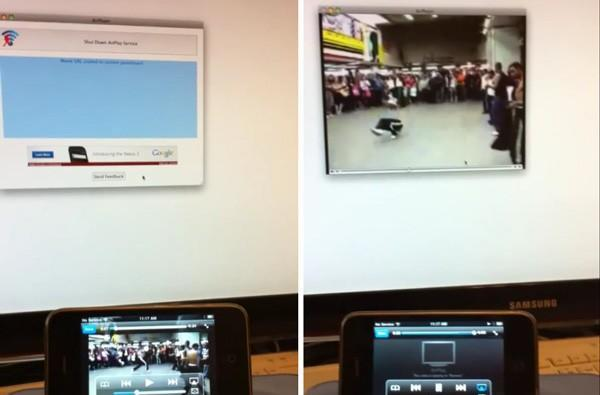 AirPlay video streaming from iOS devices hacked into Macs (video)