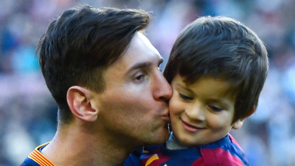 FOTO: ¡Superhéroe como su padre! Thiago Messi se convierte en Iron Man