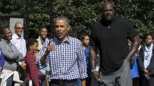 Barkley, Shaq help Obama promote vaccines