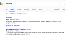 Why Breitbart is showing up in your Google 'Top stories'