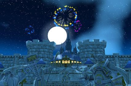 New Year's Eve in Azeroth tonight