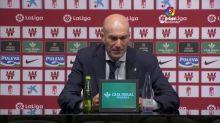 """Zidane: """"Grité al final del partido porque se sufre"""""""