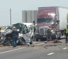 One woman, two men, and two children killed in multi-vehicle crash near Victoria: police