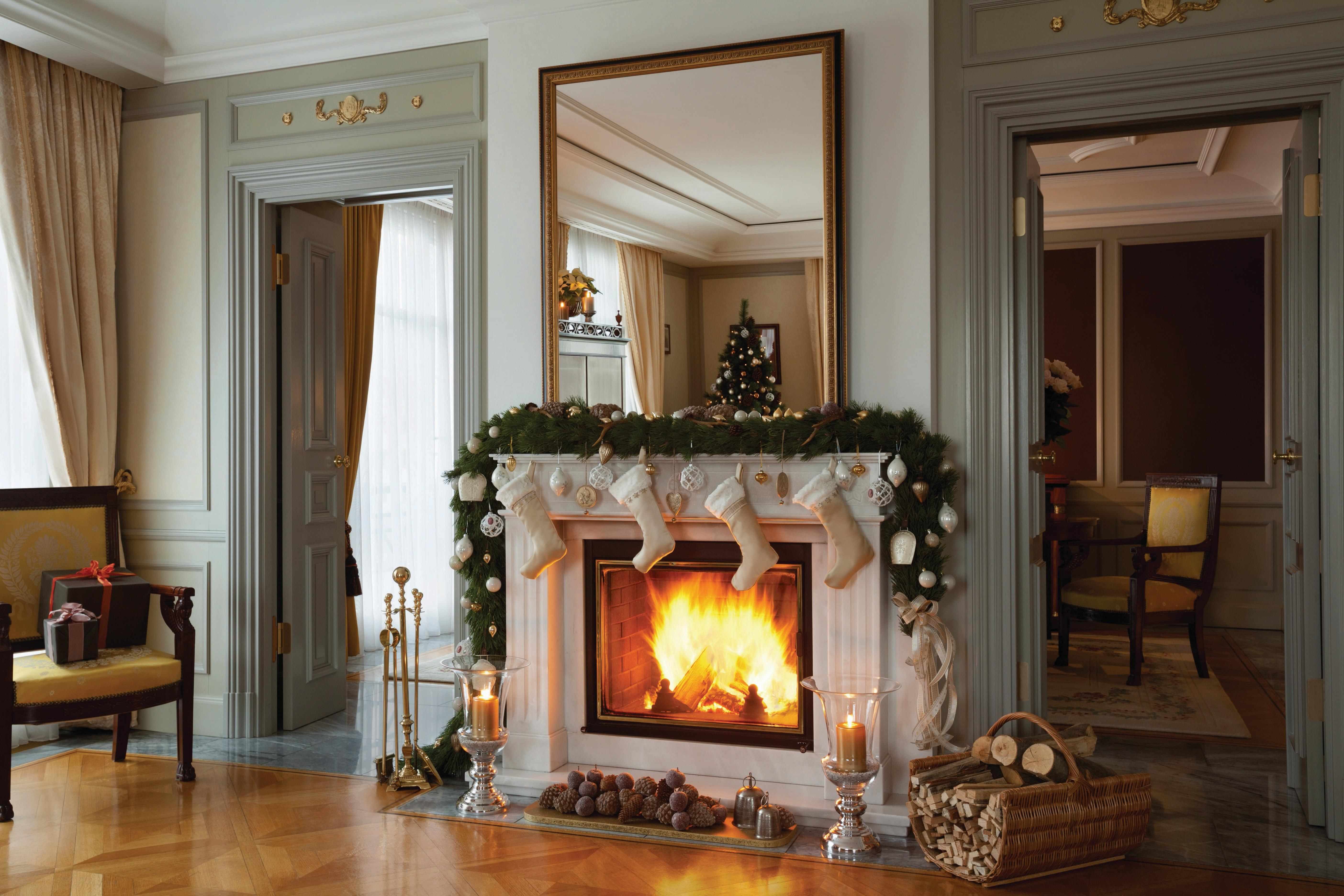 The World S Most Beautiful Hotel Rooms With Fireplaces