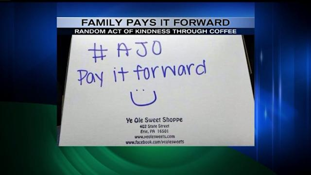 Daughter`s Final Wish Starts Pay-It-Forward Social Media Campaign