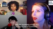 'Some people never recover': Wikileaks whistleblower Chelsea Manning compares lockdown to solitary confinement