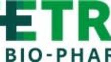 Tetra Bio-Pharma Provides Update on Recent Milestones