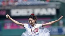 Ballerina's First Pitch May Prove Baseball and Tutus Don't Mix