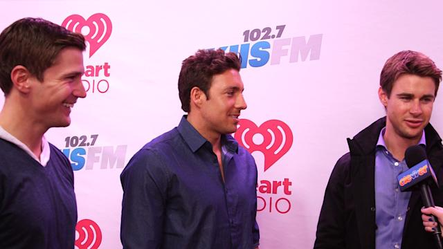 Bachelor Men Talk Juan Pablo! JINGLE BALL 2013