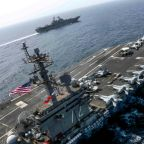 US Navy says American sailor missing in Arabian Sea