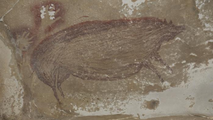 Une peinture de sanglier trouvée dans une grotte d'Indonésie est la plus ancienne connue au monde