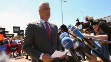 Kosovo leader meets war crime prosecutors