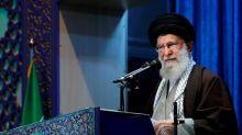 Iran's top leader strikes defiant tone amid month of turmoil