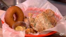 Korean Fried Chicken and Donuts