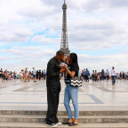 5 Times Russell Westbrook and His Wife Nina Were Super Cute On Their Paris Vacation