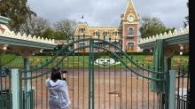Disneyland Employees, Allies Rally Outside The Theme Park For Reopening