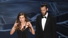 Former Hollyoaks stars win Oscar and deliver speech in sign language
