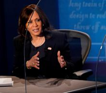 Covid-19 dominates US vice-presidential debate as Mike Pence and Kamala Harris square up