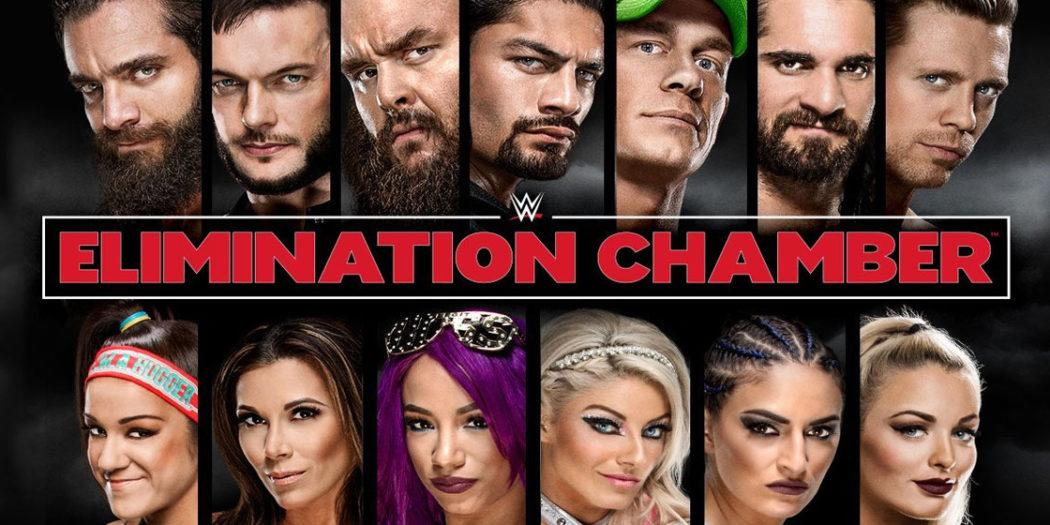 ce7caa9288d WWE Elimination Chamber 2018 results  Reigns
