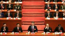 With tears and song, China welcomes Xi as great, wise leader