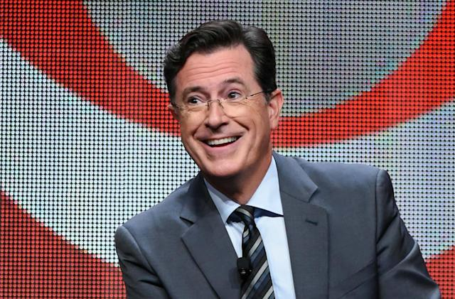 Stephen Colbert is the latest celebrity to guide you on Waze