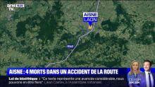 Accident dans l'Aisne: la garde à vue d'un suspect avec des antécédents judiciaires prolongée