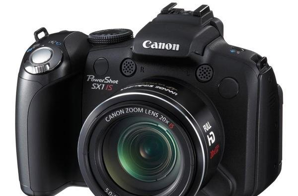 Canon's 10 megapixel SX1 IS shoots Full HD too