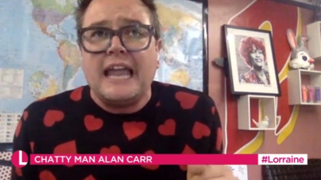 Alan Carr addresses the reaction to Adele's weight loss!