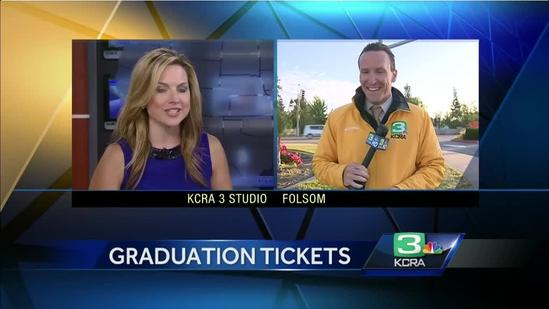 Demand increases for graduation tickets