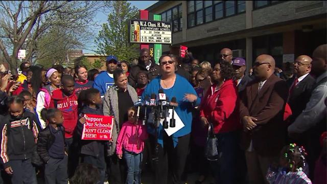 CTU announces plans for school closing protests