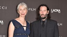 Alexandra Grant says 'every single person I knew' called after going public with boyfriend Keanu Reeves