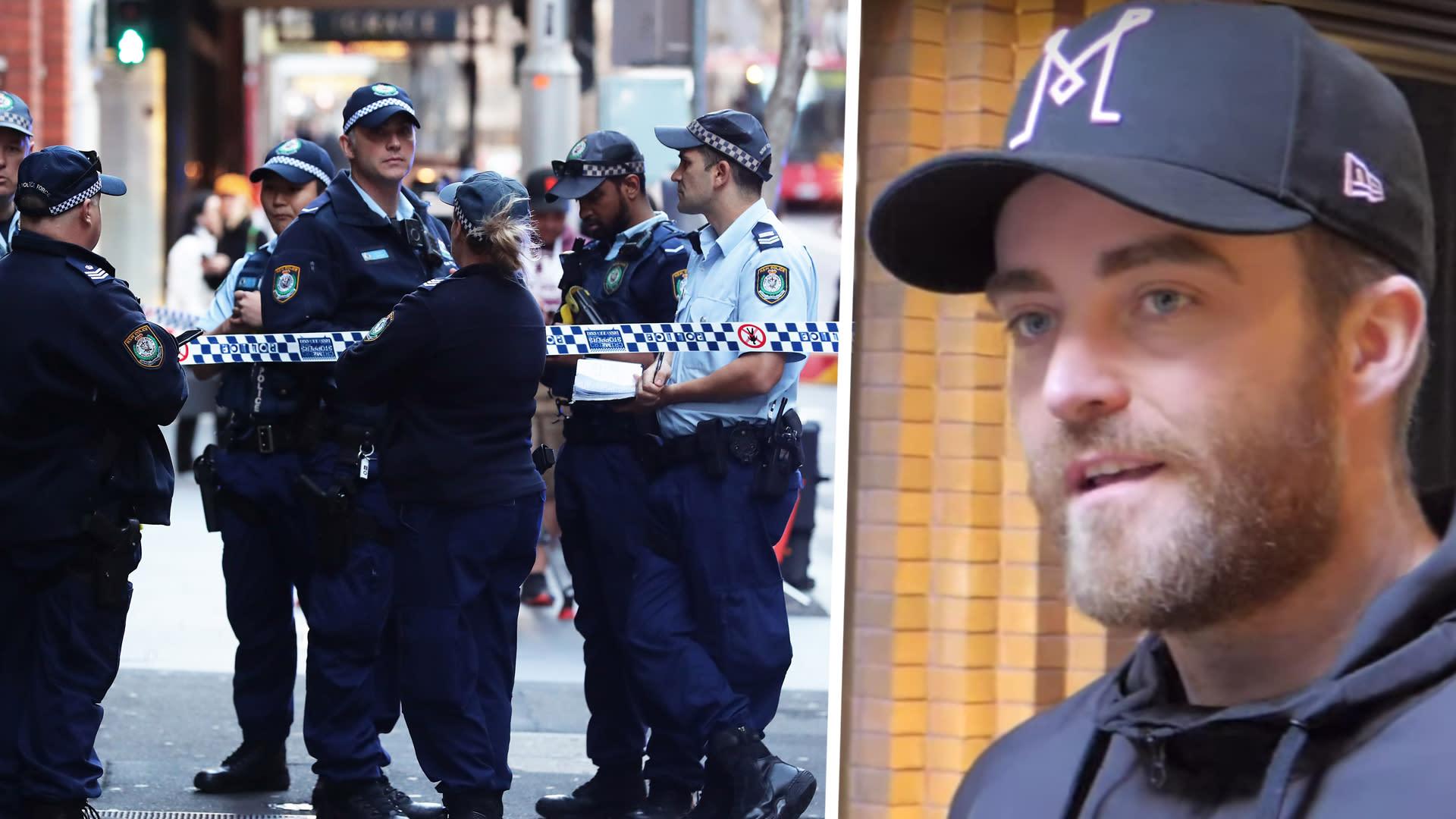 Sydney knife attack: Ex-Bury footballer becomes citizen arrest hero in Australia