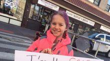 10-year-old teaches important lesson about trans people with sign
