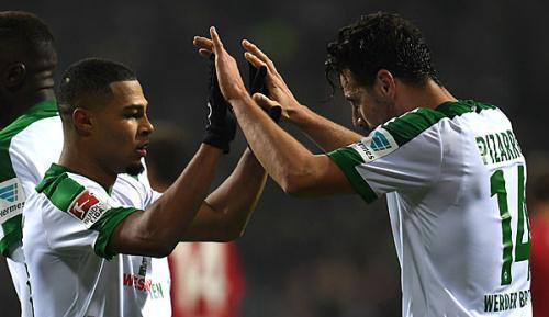 Bundesliga: Bremen: Pizarro und Gnabry wieder im Kader