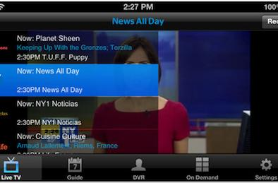Time Warner Cable bringing on-the-go live TV and on-demand video to iOS devices