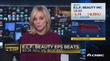 E.L.F. Beauty slightly misses top line
