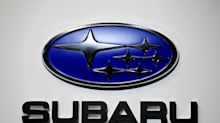 Japan's Subaru cuts annual profit outlook on yen, typhoon impact