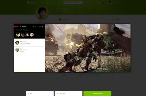 Crytek's Gface hits beta, wants you to stream your games, life
