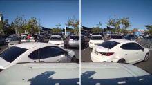 'What a shocker': Driver slammed for 'ridiculous' reverse park