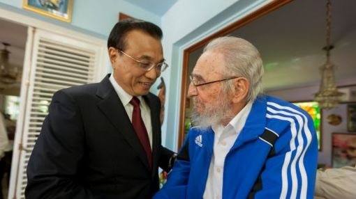Fidel Castro seen in state media for third time in a week